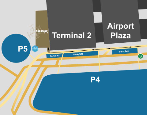 Car drop off at terminal 2
