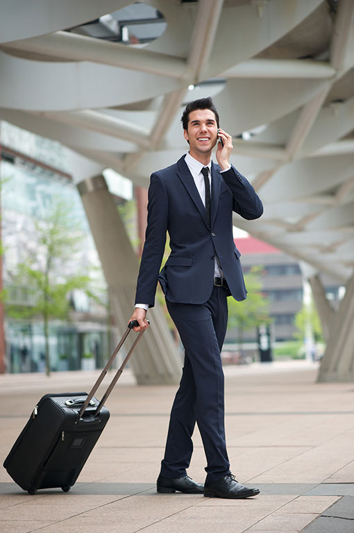Easy business travel - we park your company car
